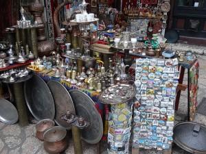 Marktstand in Sarajevo